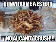 Ya no sé cómo deciros que NO me invitéis al #CandyCrush  INVITARME A UNAS #RABAS!!!