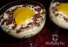 Narancsos Úriember-krém Pudding, Food, Eten, Puddings, Meals, Diet