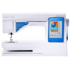 Husqvarna Viking Sapphire 960 Tutorial - Sewing Mastery - THis is the machine Mimi G. uses and the Q model has amazing quilting features! Machine À Quilter, Sewing Machine Quilting, Sewing Hacks, Sewing Tutorials, Sewing Projects, Tutorial Sewing, Sewing Tips, Viking Sewing Machine, Sewing Machines