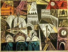 Whitney Museum of American Art: Irving Amen: Piazza San Marco Illustrations, Illustration Art, 2d Art, Wood Engraving, Woodblock Print, American Artists, Art Forms, Printmaking, Art Prints