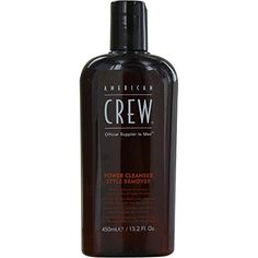 AMERICAN CREW by American Crew POWER CLEANSER STYLE REMOVER SHAMPOO 152 OZ for MEN Package Of 5 * Click image to review more details.(This is an Amazon affiliate link and I receive a commission for the sales)