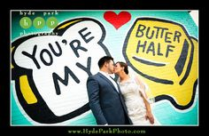 Jerry + Diego | Austin Mural | You're My Butter Half | Austin, TX | Hyde Park Photography | Pearl Events Austin | www.pearleventsaustin.com