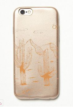 gold leather iPhone case
