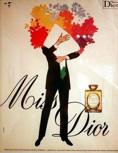 Vintage Miss Dior Parfum Ad | Dior