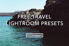 These 4 free Lightroom presets are perfect for landscapes and other photos taken while you're out traveling the world. They will help you show off your photos the way you remember seeing them in person, by enhancing colors and contrast.