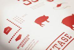 F. Ménard |Branding by lg2boutique, via Behance
