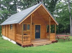 580 Sq. Ft. Heritage Log Cabin