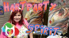 Spirit Horse beginning acrylic painting lesson step by step tutorial for Hart Party by The Art Sherpa. This is a great personal Painting Party piece you can enjoy!
