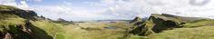 Quiraing Panorama - Scotland, Isle of Skye, Quiraing 2008 http://www.snatches-of-light.de