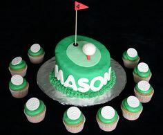 Golf Cake 5   Sweet Melissa Sue's Cakes