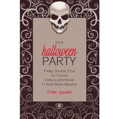 Find custom Halloween invitations for all party themes, including scary, kid-friendly, and gothic. Online Party Supplies, Halloween Party Supplies, Kids Party Supplies, Halloween Party Decor, Halloween Costumes For Kids, Haunted House Decorations, Haunted House Props, Fright Night, Personalized Party Favors