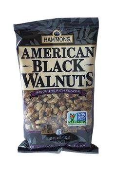 Hammons Black American Walnuts, 4-Ounce * You can find out more details at the link of the image.
