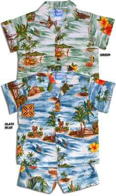 23cf22d2 100% Cotton, RJC Label, Made In Hawaii. Tahiti Tiki Polynesian Island  Hawaiian