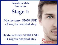 Sex Reassignment surgery from female to male in Bangkok Thailand includes surgical procedures that will reshape your female body to appear like that of a male.