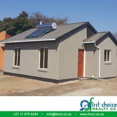 Another successful development by First Choice Realty in Pretoria North, Wolmer! Visit our Website:    3 Bedroom Plan, First Choice, Pretoria, Shed, Outdoor Structures, Website, Link, Outdoor Decor, Home