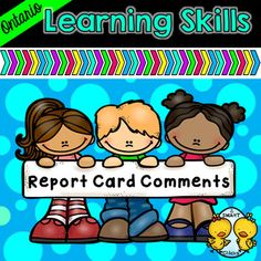 Ontario Learning Skills Report Card Comments: Completing the learning skills portion of the Ontario report card has never been easier! Make this normally time consuming task a breeze with our Ontario Learning Skills Report Card Comments! Learning Skills, Skills To Learn, Report Card Comments, Report Card Template, Classroom Behavior Management, Progress Report, Character Education, Teacher Newsletter, Teacher Pay Teachers