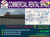Commercial rental properties still for rent!!!  Commercial property rentals  Rental commercial property  Check out our specials!!  2915 E. Division St.  Arlington, TX 76011  817 633 0800  6flagsmalls@gmail.com