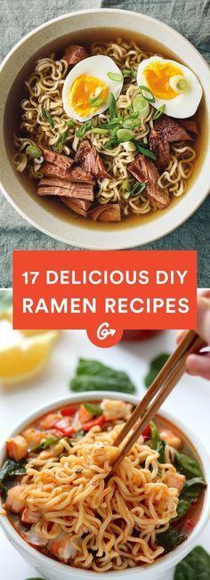 17 Delicious DIY Ramen Recipes