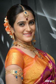 Priyanka Rao Photos In Saree