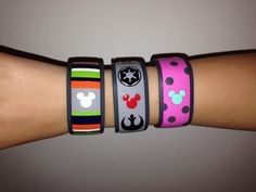Has anyone decorated their Magic Bands? Please show us the pictures! - Page 78 - The DIS Discussion Forums - DISboards.com