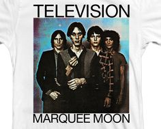"TELEVISION ""Marquee Moon"" shirt"