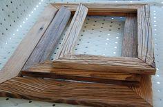 Cadre en vieux bois sur mesure/Ramka ze starego drewna na wymiar