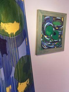 """andrea mattiello """"NINFEE; I FIORI D'ACQUA"""", 17 - 31 agosto 2016, Spazio espositivo di Via della Cervia, Lucca #andreamattiello #waterflower #waterlilies #ninfea #collage #contemporaryart #lucca"""
