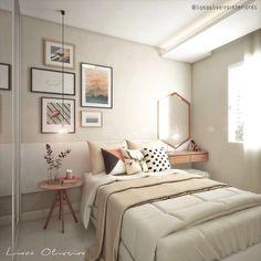 """746 curtidas, 31 comentários - • Designer de interiores. (@lianaoliveirainteriores) no Instagram: """"Mais um ambiente desse apartamento que ficou lindo! No último post o quarto da filha, agora o…"""""""