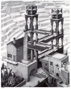 mobius MC esher | The Strange Worlds of M C Escher | Escape Into Life