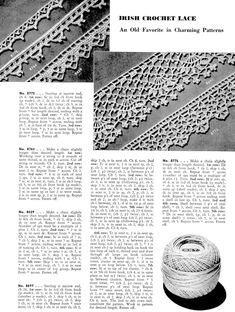 Crochet Patterns For Edging Free Crochet Edgings Pattern Archives Vintage Crafts And More Crochet Patterns For Edging Crochet Borders 3 The Little Flowers Bordure Crochet. Crochet Patterns For Edging Lovely Crochet Edging Patterns Ideas Hat. Crochet Edging Patterns Free, Crochet Lace Edging, Crochet Borders, Lace Patterns, Thread Crochet, Crochet Trim, Vintage Patterns, Free Crochet, Crochet Edgings