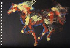 """Saatchi Art Artist Francesca Romana Pinzari; Painting, """"Cavalli per Siena, Contrada della Chiocciola 01"""" #art"""