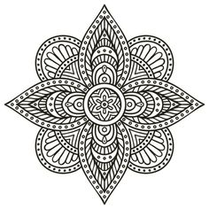 Find Mandala Round Ornament Pattern Vintage Decorative stock images in HD and millions of other royalty-free stock photos, illustrations and vectors in the Shutterstock collection. Mandala Art, Mandalas Drawing, Mandala Coloring Pages, Mandala Pattern, Zentangle Patterns, Coloring Book Pages, Henna Mandala, Zentangles, Drawing Hands