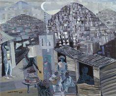 Favelas - Candido Portinari