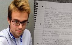 Man With Autism Writes What He Wishes He'd Said to Childhood Teachers
