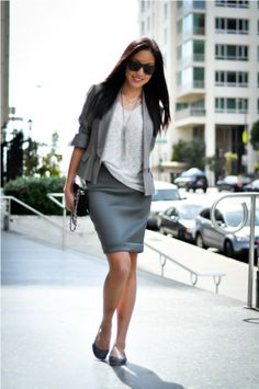 stylish business casual ... Visit the web portal for 5 appropriate appearances by using many of these irresistible sporty chic check http://topfashiondesigners.us/3-tricks-to-follow-the-trend-sporty-chic/