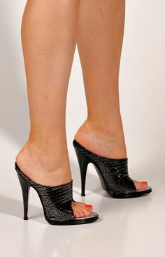 Mules High Heels | 2084 ItalianHeels.com High Heels 6 inch ...