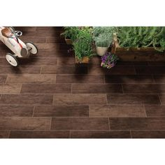 MS International Vogue Mocha 6 in. x 24 in. Glazed Porcelain Floor and Wall Tile (14 sq. ft. / case)-NHDVOGMOC6X24 - The Home Depot