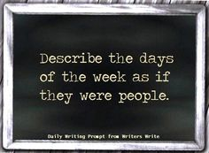 Daily Writing Prompt - Writers Write Creative Blog                              …
