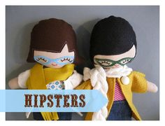 Hipster Rag Doll Made to Order by rileyconstruction on Etsy http://craftysupermarket.wordpress.com/2013-holiday-crafters/
