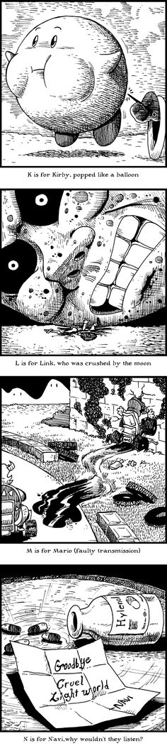 Okay, this is hilarious. I imagine it would be even funnier if I knew more about Gorey's work, but even with my limited knowledge, this is awesome.