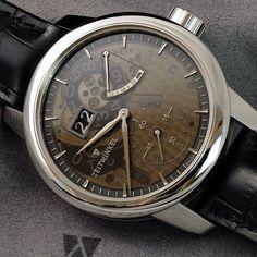 """Zeitwinkel's new 273 degree Saphir Omega Watch, Watches, Instagram Posts, Accessories, Jewelry, Sapphire, Jewlery, Bijoux, Clocks"