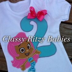 Bubble guppies birthday  by Classyritzybabies on Etsy, $24.00