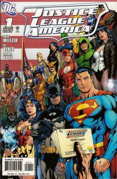 Justice League of America #1 - The Tornado's Path, Chapter One: Life (Issue)