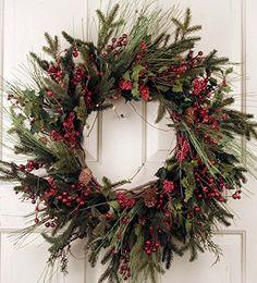 Christmas Pine Cones, Christmas Door Wreaths, Mini Christmas Tree, Holiday Wreaths, Winter Wreaths, Christmas Villages, Christmas Nails, Christmas Ornament, Outdoor Christmas Tree Decorations