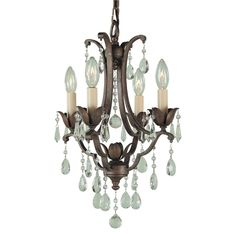 Shop Feiss  F1881/4BRB 4 Light Maison Ville Duomount Chandelier at ATG Stores. Browse our chandeliers, all with free shipping and best price guaranteed.