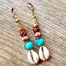 Image result for cowrie shells jewelry