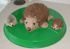 The Hedgehog and friends.