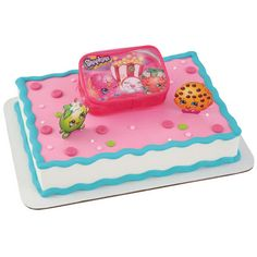 Shopkins: Time to Shop Deluxe Cake Set 3pk Party Supplies Canada - Open A Party
