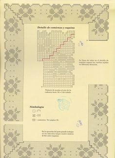 Журнал: Muestras y Motivos Especial Panos №14 - Вяжем сети, спицы и крючок - ТВОРЧЕСТВО РУК - Каталог статей - ЛИНИИ ЖИЗНИ