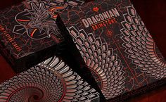 News: Draconian Brimstone Playing Cards Is Now Available To Pre-Order | Kardify : Playing Cards News